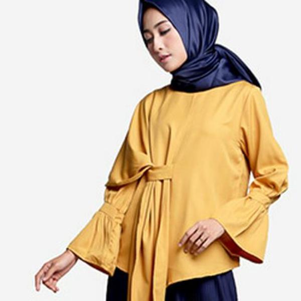 Baju Busana Muslim Berpita yang Menghias Tubuh dengan Indah
