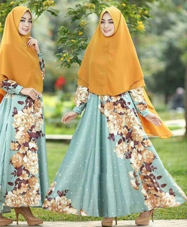 Baju Gamis Murah Dan Cantik Berbahan Maxmara Hight Quality Untuk Semua Wanita Muslimah