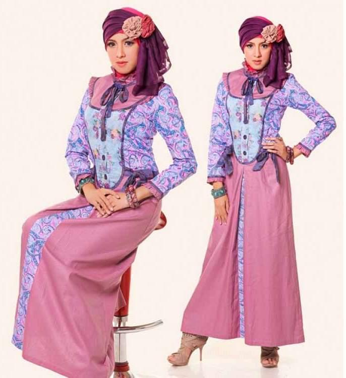 Gamis Terkini Kanza Dress Bagi Anda yang Ceria