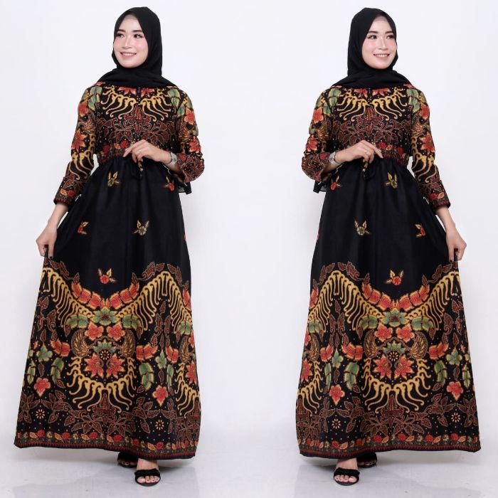 Trend baju gamis batik terkini